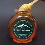 شفافیت عسل گون