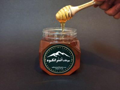 مزه و رنگ عسل کوهی